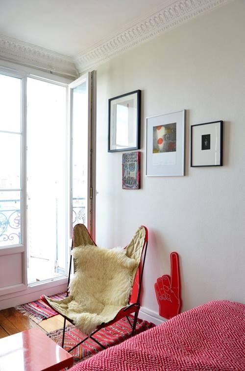 Casas con encanto el apartamento de Sofía en París 8