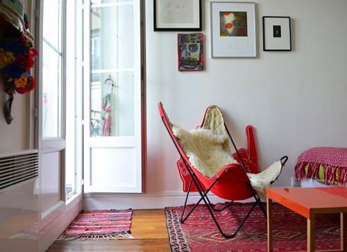 Casas con encanto el apartamento de Sofía en París 9