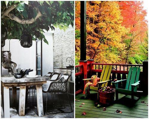 Ideas de decoración inspiradoras para porches, jardines y terrazas 6