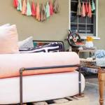 Nuevas ideas con palets una cama de día y un portabicicletas  7