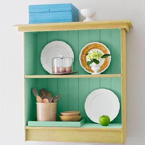 Cómo hacer chalk paint o pintura a la tiza en casa para decorar muebles a todo color.