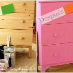 Como hacer chalk paint o pintura a la tiza en casa 9