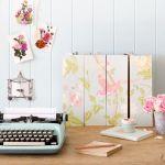 Ideas para decorar con papel pintado vintage 4