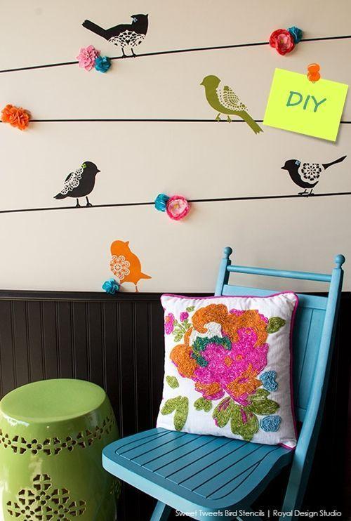 Paredes decomanitas - Plantillas de letras para pintar paredes ...