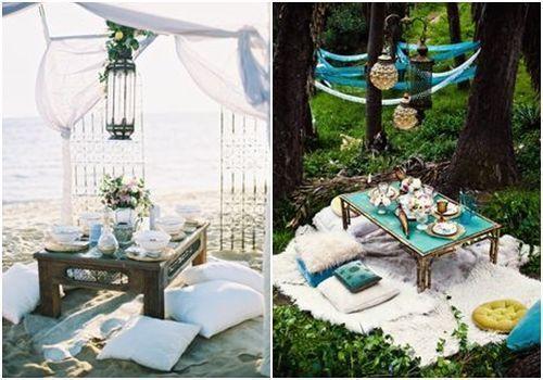 10 ideas para decorar un picnic en la playa, el campo, el lago... 6