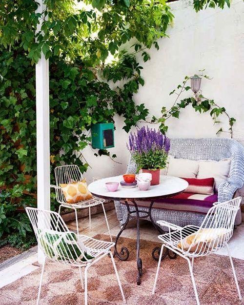 Decoración de exteriores con las más bellas ideas... 11