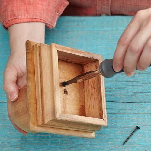 Ideas de decoración orienta flor de madera DIY para chill out 4