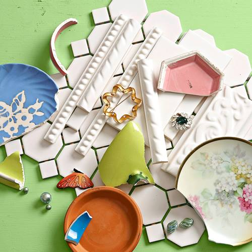 Manualidades para decorar la casa jabonera facil con mosaico 2