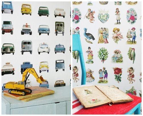 Papel pintado vintage con diseños que enamoran...14