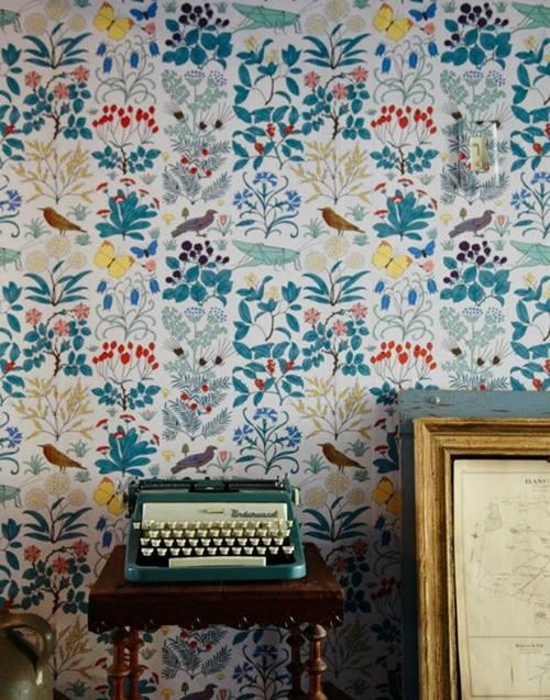 Papel pintado vintage con diseños que enamoran...3