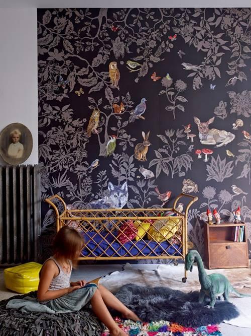 Papel pintado vintage con diseños que enamoran...4