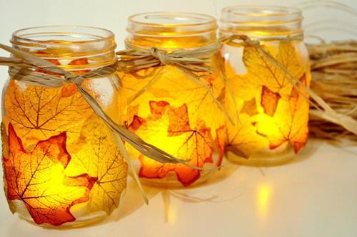 5 manualidades fáciles para decoración de otoño 2a