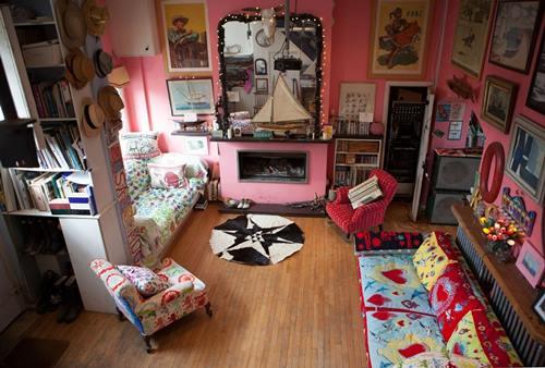 Casas con encanto: crazy vintage en esta casa familiar en Dorset ...