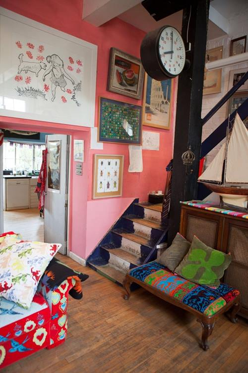 Casas con encanto crazy vintage en esta casa familiar en Dorset 3