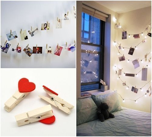 10 manualidades con pinzas de madera para decorar tu casa 11