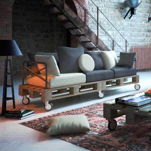Muebles Con Palets Decomanitas