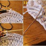 Una alfombra de trapillo original a más no poder... 5