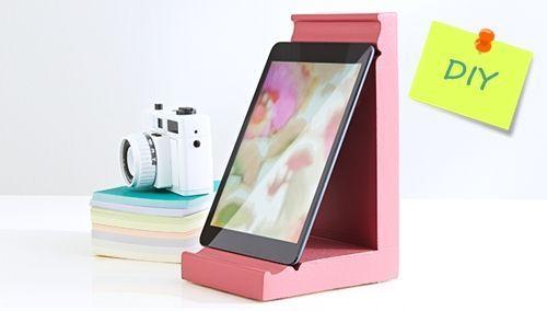 DIY cómo hacer soporte para tablet o ipad 1