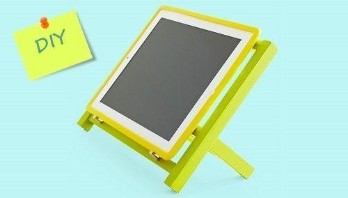 DIY cómo hacer soporte para tablet o ipad 3