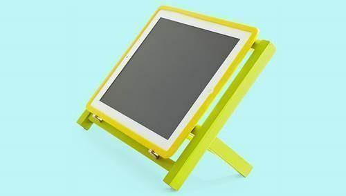 DIY cómo hacer soporte para tablet o ipad 4
