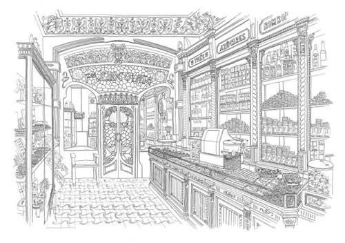 Sitios con encanto Chök, el templo del chocolate de Barcelona 5