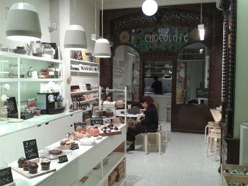 Sitios con encanto Chök, el templo del chocolate de Barcelona 6