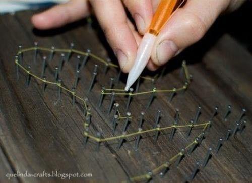 2 ideas para regalar en San Valentín hechas a mano con hilos 5