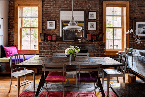 Casas con encanto un apartamento en Nueva York rústico renovado 1