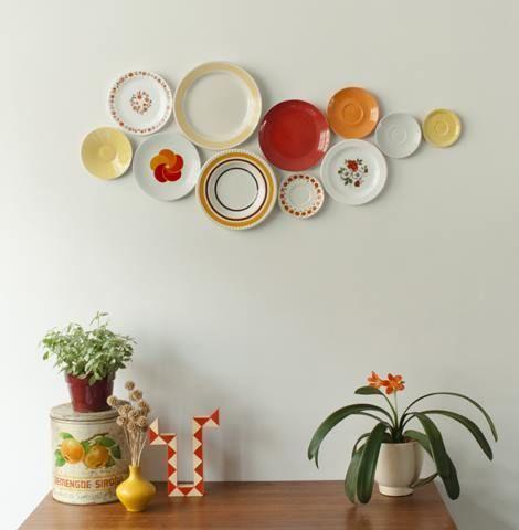 Decorar paredes con colecciones de todo lo que puedas imaginar... 1