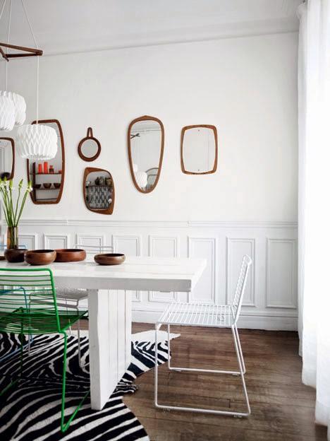 Decorar paredes con colecciones de todo lo que puedas imaginar... 12