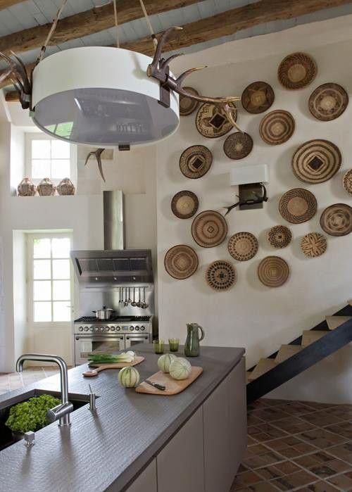 Decorar paredes con colecciones de todo lo que puedas imaginar... 8