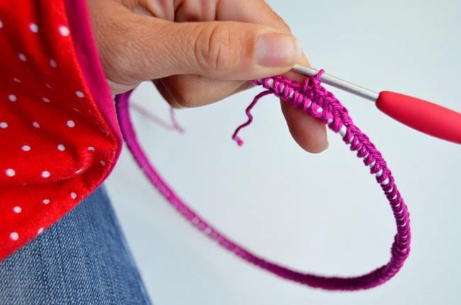 Labores de ganchillo preciosa lampara de crochet 6
