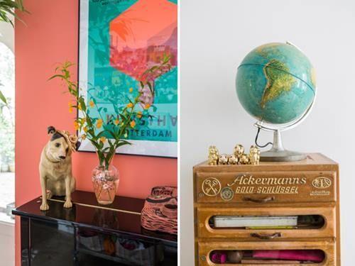 Casas con encanto decoración retro con chispa en Holanda 6