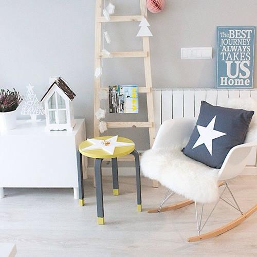 Transformar muebles Ikea ideas para tunear el taburete Frosta 4
