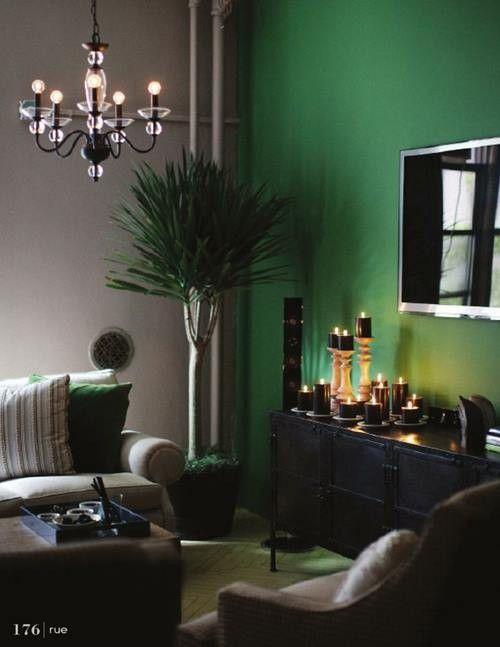 Verde esmeralda para decoración de interiores llena de misterio... 2