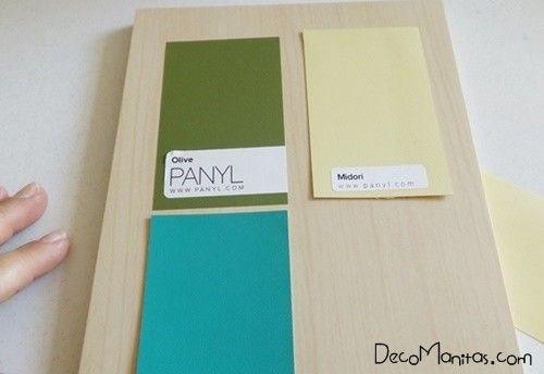 2 manualidades para decorar paredes con tablas de madera 3