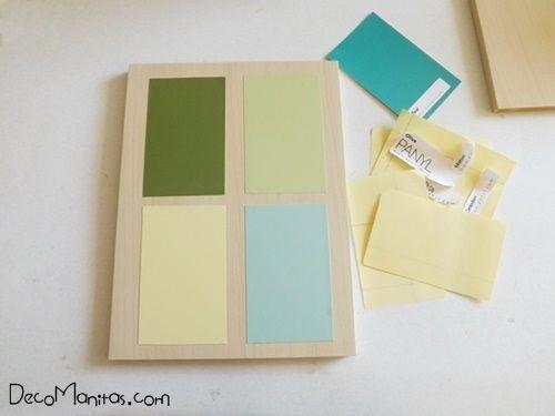 2 manualidades para decorar paredes con tablas de madera 4