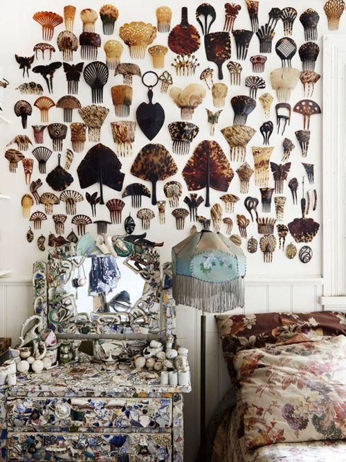 Casas con encanto decoración vintage, arte y coleccionismo 7