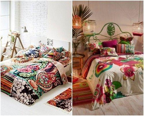 Desigual, ropa de cama a todo color de inspiración boho chic 3