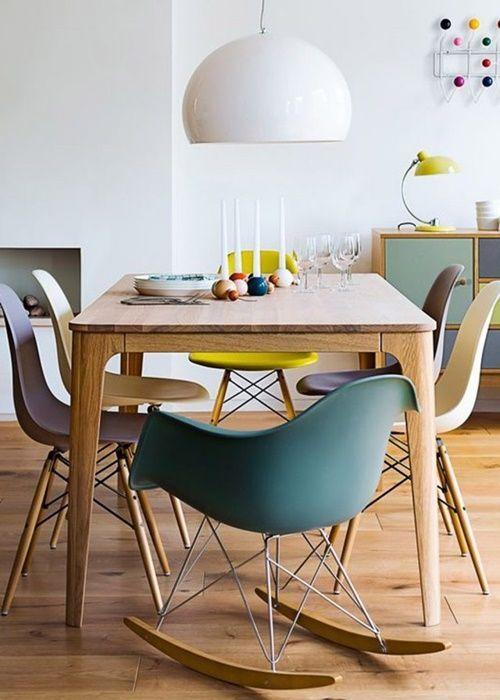 Diseños célebres silla Eames, icono del diseño de los 50s 1
