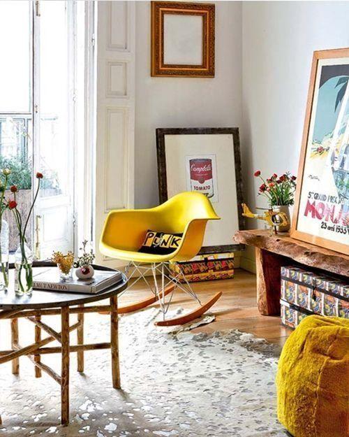 Diseños célebres silla Eames, icono del diseño de los 50s 8