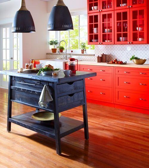 20 ideas para pintar muebles de madera antiguos a todo color 12