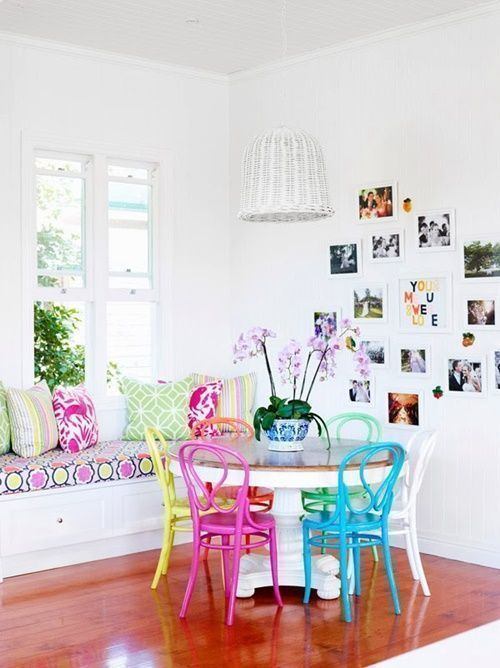 20 ideas para pintar muebles de madera antiguos a todo color 16