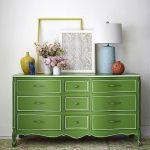 20 ideas para pintar muebles de madera antiguos a todo color 18