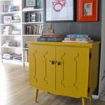 20 ideas para pintar muebles de madera antiguos a todo color 3