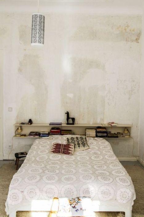 Ideas para pintar una casa paredes vintage efecto desgastado 6
