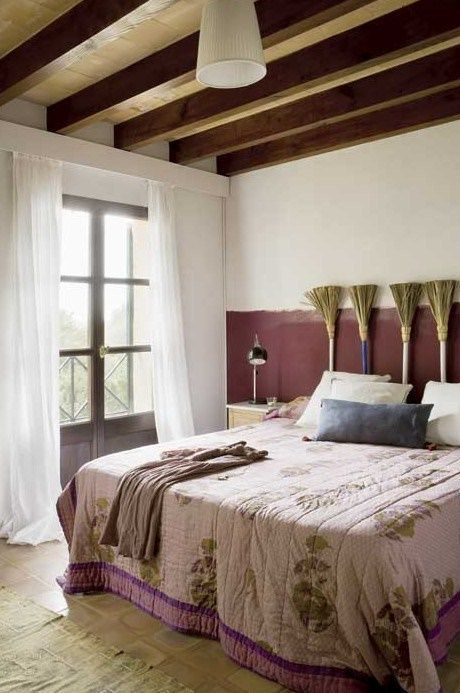 Cabeceros de cama originales estos 10 diy te - Cabeceros cama antiguos ...