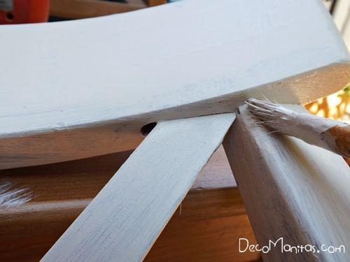 Reciclar muebles con otro uso reciclaje creativo de una vieja silla 14