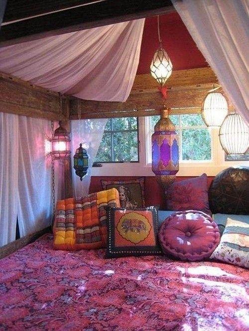 ideas para una decoracin rabe bohemia