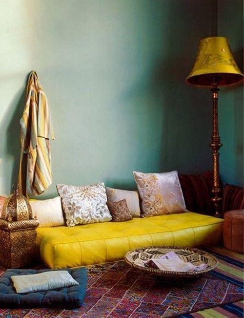 ideas de decoración de la pared bohemia 20 Ideas Para Una Decoracin Rabe Bohemia De Las Mil Y Una